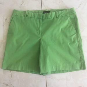 Talbots Green Khaki Chino Shorts w/ Pockets 16